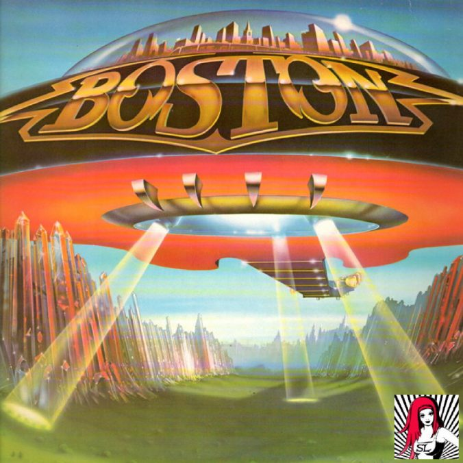 Boston's Album Cover 'Don't Look Back'