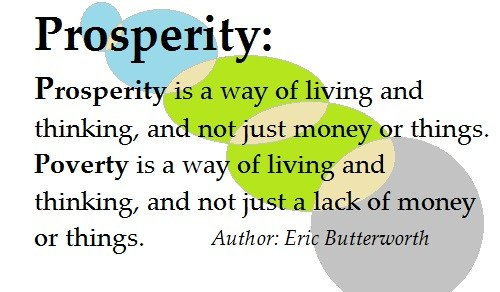 Prosperity Vs Austerity Thinking